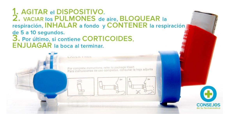 ASMA: Cómo utilizar tu inhalador y otros consejos