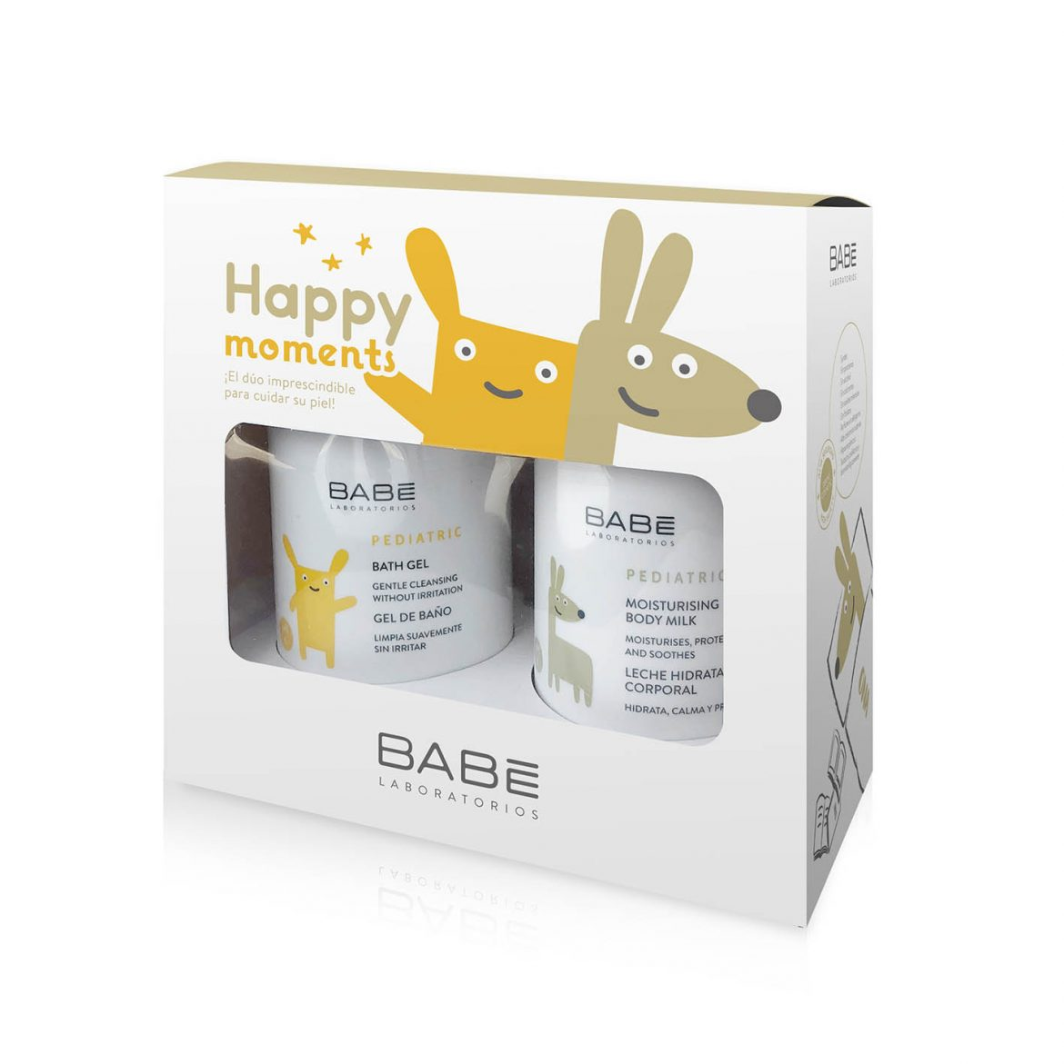 HAPPY MOMENTS de BABÉ, el pack pediátrico para cuidar la piel de los niños