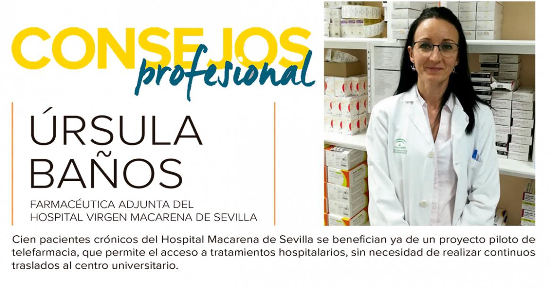 """Úrsula Baños: """"La colaboración en el seguimiento farmacoterapéutico por los farmacéuticos de todos los niveles asistenciales es fundamental"""""""