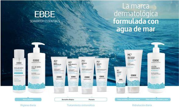 EBBE y SEA4: los beneficios del agua de mar llegan a las farmacias