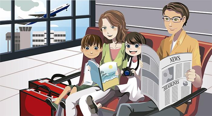 Los pediatras advierten de los riesgos de viajar a países tropicales con niños