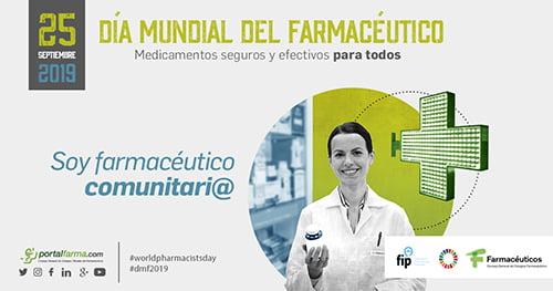 74.000 farmacéuticos celebran el Día Mundial del Farmacéutico