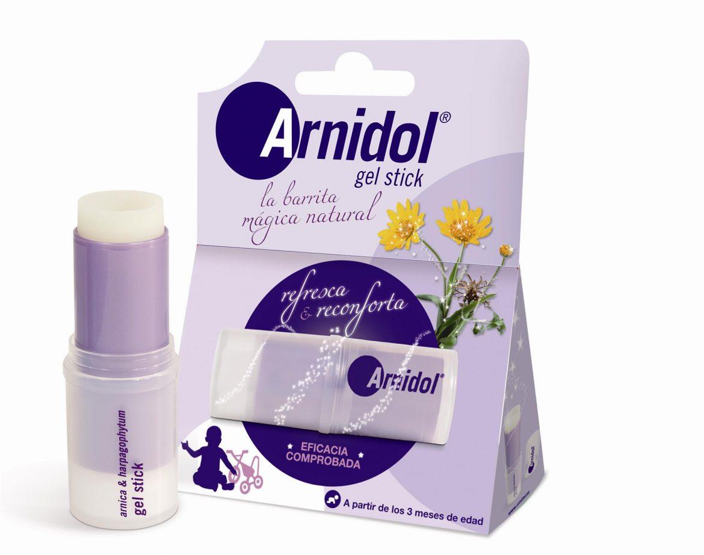 Arnidol Gel Stick para pequeños golpes, la barrita que refresca y reconforta