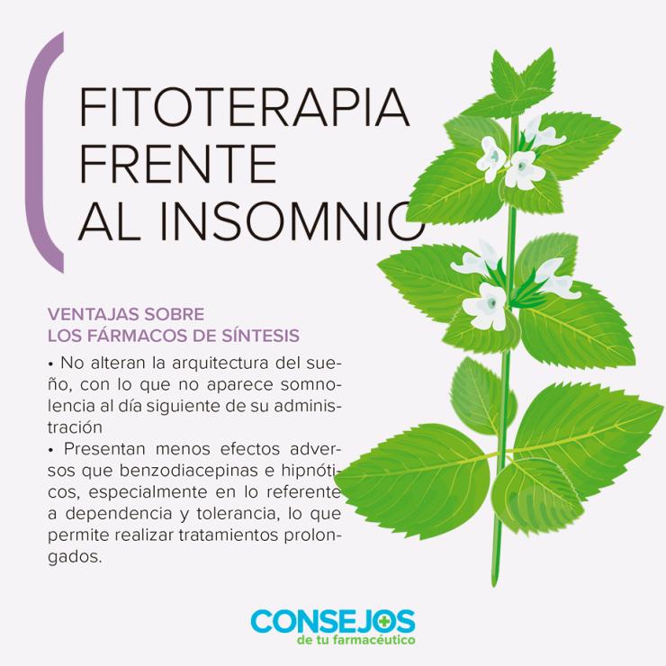Fitoterapia frente al insomnio