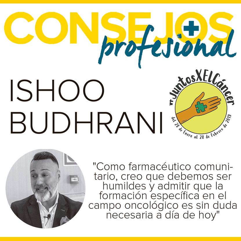 """Ishoo Budhrani: """"La formación específica en el campo oncológico es sin duda necesaria a día de hoy"""""""