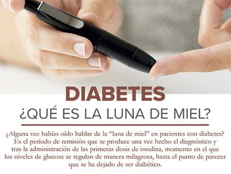 luna de miel en diabetes