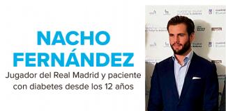Nacho Fernández diabético